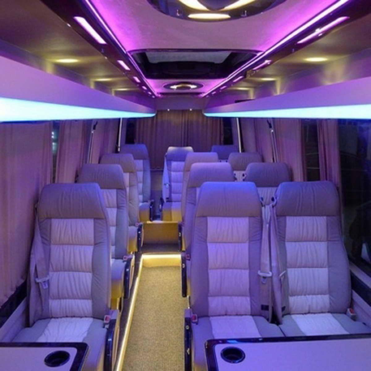 туристический микроавтобус фото