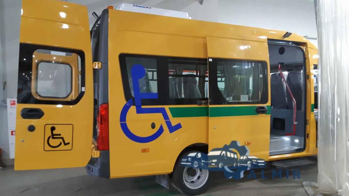 Газель некст автомобиль для инвалидов колясочников