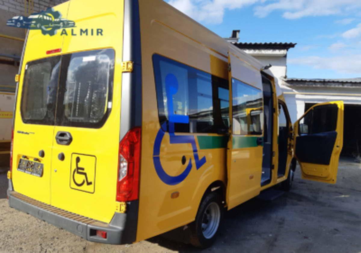 автомобиль для инвалидов колясочников на базе ГАЗ