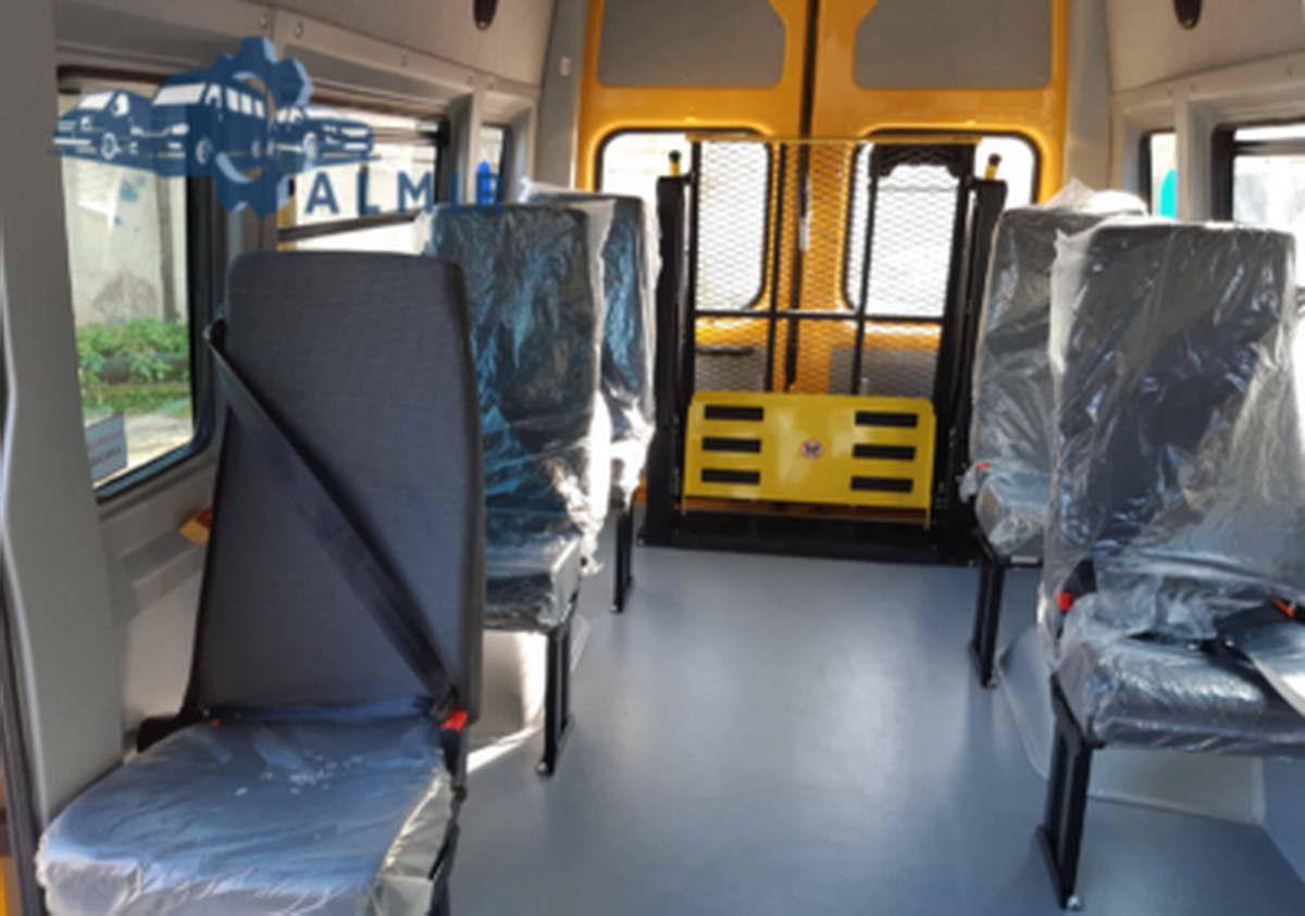 переоборудование микроавтобуса ГАЗ в авто для инвалидов